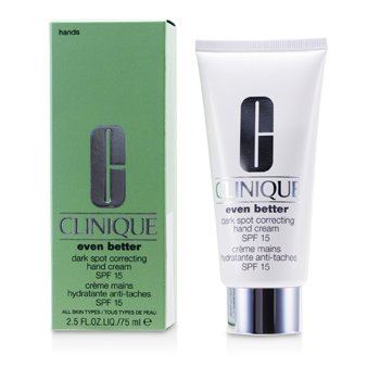 CliniqueEven Better Dark Spot Correcting Hand Cream SPF 15 75ml/2.5oz
