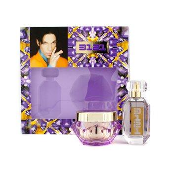 Prince 3121 Coffret: Eau De Parfum Spray 30ml/1oz + Xotic Body Creme 50g/1.7oz 2pcs