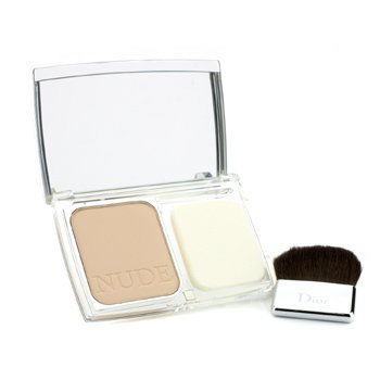 Christian Dior Diorskin Nude Compact Nude Glow Versatile Powder Makeup SPF 10 - # 020 Light Beige  10g/0.35oz