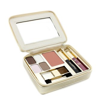 Clarins Odyssey Make Up Palette: 4x Eye Shadow  1x Blush  1x Mini Mascara  1x Mini Gloss  2x Applicator -