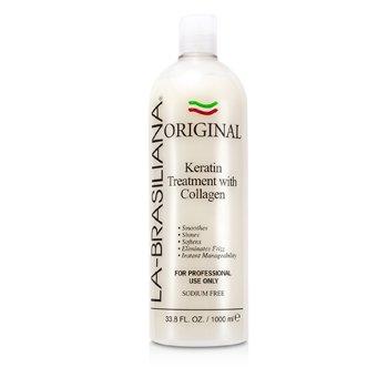 La-Brasiliana Original Keratin Treatment With Collagen 1000ml/33.8oz hair care