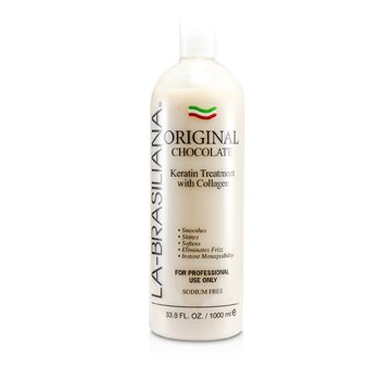 La-Brasiliana Original Chocolate Keratin Treatment With Collagen 1000ml/33.8oz hair care