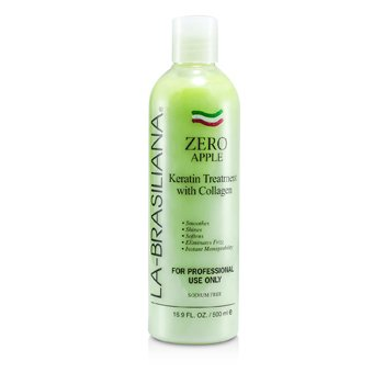 La-Brasiliana Zero Apple Keratin Treatment with Collagen 500ml/16.9oz hair care