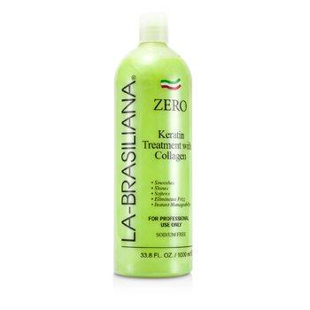 La-Brasiliana Zero Apple Keratin Treatment with Collagen 1000ml/33.8oz hair care