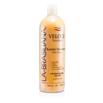 La-Brasiliana Veloce Instant Keratin Treatment With Collagen 1000ml/33.8oz hair care