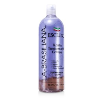 La-Brasiliana Escluso Keratin Treatment with Collagen  1000ml/33.8oz
