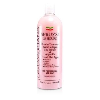 La-Brasiliana Spruzzi 24 Hours Keratin Treatment with Collagen, Soy Protein & Ar hair care
