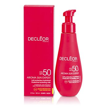DecleorAroma Sun Expert Protective Hydrating Milk High Protection SPF50  7610 150ml/5oz