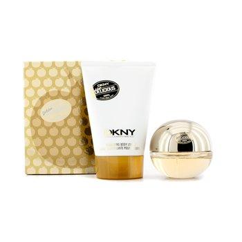 DKNYGolden Delicious Coffret: parfemska voda u spreju 30ml/1oz + svjetlucavi losion za tijelo 100ml/3.4oz 2pcs