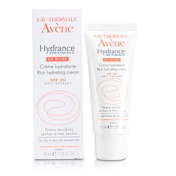 AveneHydrance Optimale UV Rich Hydrating Cream SPF 20 (For Dry to Very Dry Sensitive Skin) 40ml/1.35oz
