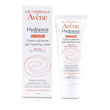 AveneCreme Hydrance Optimale UV Light Hydrating Cream SPF 20 (pele normal e mista) 40ml/1.35oz