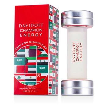 Davidoff Champion Energy Eau De Toilette Spray (Edici�n Medio Oriente)  90ml/3oz