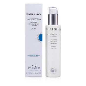 Swissline Water Shock Comforting Emulsion Cleanser 160ml/5.4oz