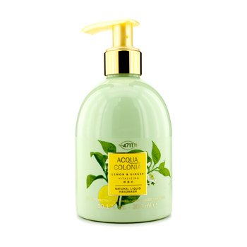 4711 Acqua Colonia Lemon & Ginger Natural Liquid Hand Wash  300ml/10.1oz