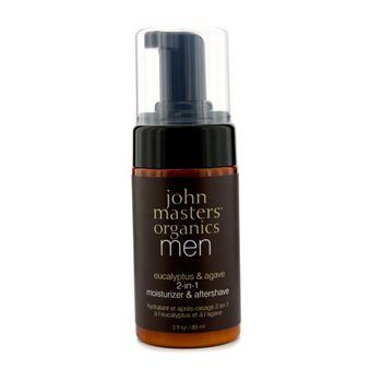 John Masters Organics Men 2-In-1 Moisturizer & Aftershave  89ml/3oz