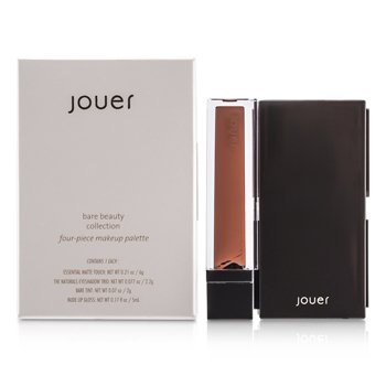 Jouer Bare Beauty Collection: 1x Matte Touch, 1x Eyeshadow Trio, 1x Bare Tint, 1x Lip Gloss 4pcs
