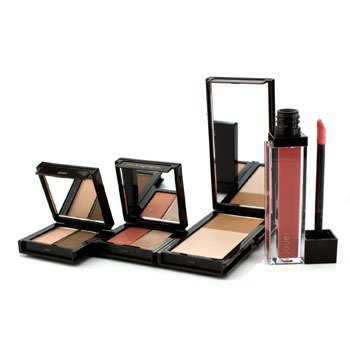 Jouer Blushing Beauty Palette: 1x Matte Touch, 1x Eyeshadow Duo, 1x Tint/ Highlighter Duo, 1x Lip Gloss 4pcs