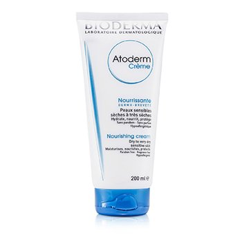 BiodermaAtoderm Nourishing Cream - For Dry to Very Dry Sensitive Skin (Tube) 200ml/6.7oz