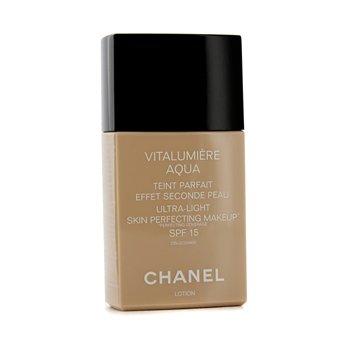 Chanel Vitalumiere Aqua Ultra M�u S�ng Da Perfecting Make Up SPF15 - # 64 Beige Ambre  30ml/1oz