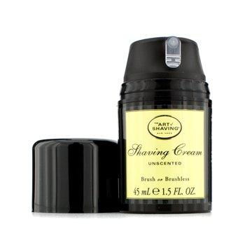 The Art Of ShavingShaving Cream - Unscented (Travel Size, Pump) 45ml/1.5oz