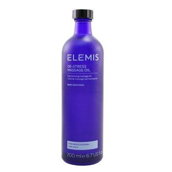 ElemisDe-Stress Massage Oil (Salon Size) 200ml/6.8oz