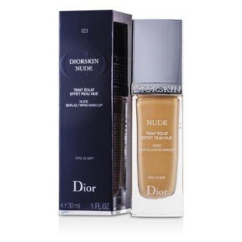 Christian Dior Diorskin Nude Sade I��lt�l� Makyaj SPF15 - # 023 �eftali  30ml/1oz