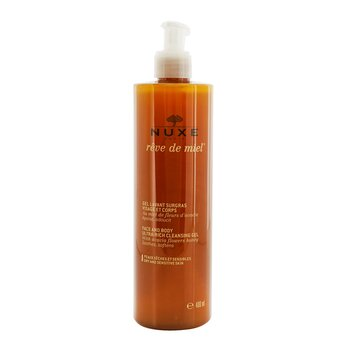 NuxeReve De Miel Face & Body Ultra-Rich Cleansing Gel (Dry & Sensitive Skin) 400ml/13.5oz