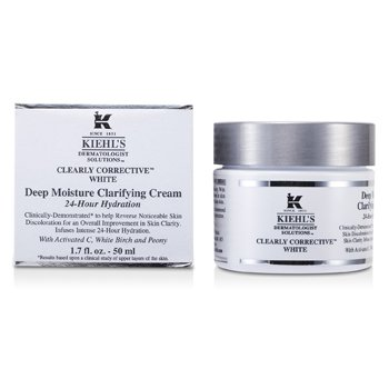Kiehl'sClearly Corrective White Deep Moisture Clarifying Cream 50ml/1.7oz