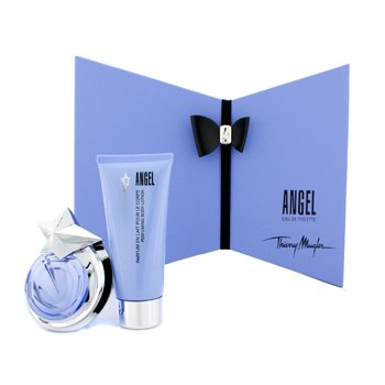 Thierry Mugler Angel Coffret: Eau De Toilette Spray 40ml/1.4oz + Perfuming Body Lotion 100ml/3.5oz  2pcs