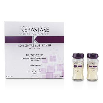 KerastaseFusio-DoseTratamiento Rellenador Concentrado Con Substantif Pro-Calcium 15x12ml/0.4oz