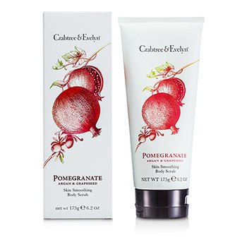Crabtree & EvelynPomegranate, Argan & Grapeseed Body Scrub 175g/6.2oz
