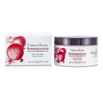 Crabtree & EvelynPomegranate, Argan & Grapeseed Body Cream 225g/7.9oz