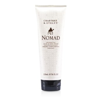 Crabtree & Evelyn Nomad Invigorating Hair & Body Wash  225ml/7.6oz