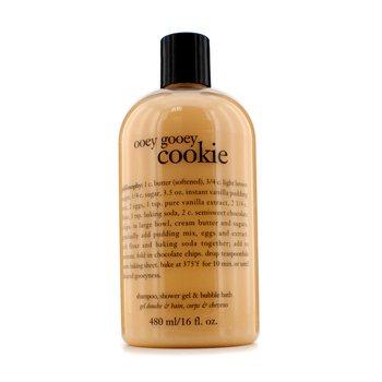 PhilosophyOoey Gooey Cookie Shampoo, Shower Gel & Bubble Bath 480ml/16oz