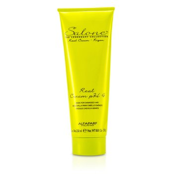 AlfaParfSalone The Legendary Collection Rigen Real Cream PH 4 Mascarilla Reparadora (Cabellos Da�ados) 250ml/8.81oz