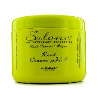 AlfaParfColecci�n The Legendary  Rigen Real Cream PH 4 Mascarilla Reparadora (Cabellos Da�ados) 500ml/17.63oz