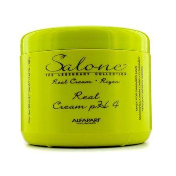 AlfaParf Colecci�n The Legendary  Rigen Real Cream PH 4 Mascarilla Reparadora (Cabellos Da�ados)  500ml/17.63oz