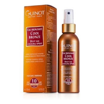 GuinotCool Bronze Deep Tan Cooling Spray SPF 10 150ml/5.07oz