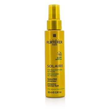 Rene FurtererSun Care Waterproof KPF 90 Protective Summer Fluid - Natural Effect (High Protection For Hair Exposed To The Sun) 100ml/3.38oz