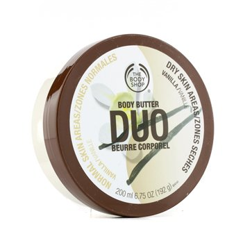 The Body Shop Vanilla Body Butter Duo 200ml/6.75oz
