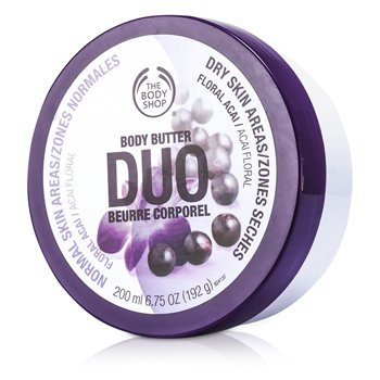 The Body Shop Floral Acai Body Butter Duo 200ml/6.75oz