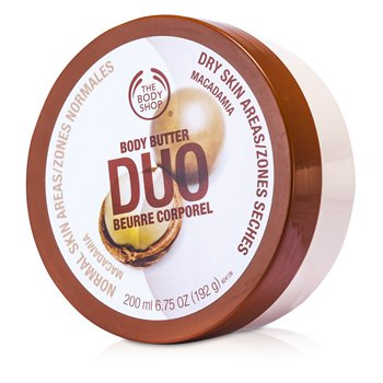 The Body Shop Macadamia Body Butter Duo 200ml/6.75oz