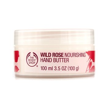 The Body Shop Wild Rose Nourishing Hand Butter 100ml/3.5oz