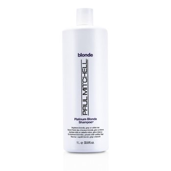 Paul MitchellBlonde Platinum Blonde Shampoo (Brighten Blonde, Gray or White Hair) 1000ml/33.8oz