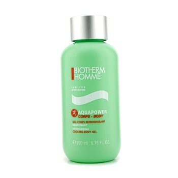 BiothermHomme Aquapower Deodorizing Cooling Body Gel (Sport Limited Edition) 200ml/6.76oz