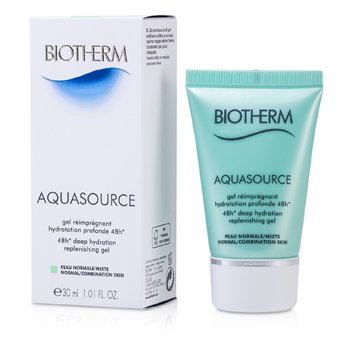 BiothermGel Hidratante Aquasource 48H Deep Replenishing (Pele Normal � Mista) 30ml/1oz