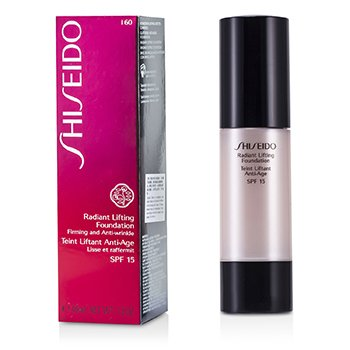 Shiseido Radiant Base Maquillaje Alisadora SPF 15 - # I60 Natural Deep Ivory  30ml/1.2oz