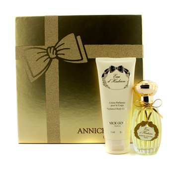 Annick Goutal Eau D'Hadrien Coffret: Eau De Toilette Spray 50ml/1.7oz + Body Cream 100ml/3.4oz  2pcs