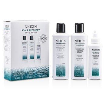 Nioxin Set Recuperador Cuero Cabelludo: Champ�  200ml + Acondicionador 200ml + Serum Calmante 100ml  3pcs