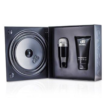 Loris Azzaro Decibel Coffret: Eau De Toilette Spray 100ml/3.4oz + Hair & Body Shampoo 150ml/5oz  2pcs